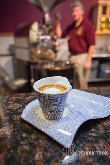 A Cafe Macchiato at La Fortuna Cafe