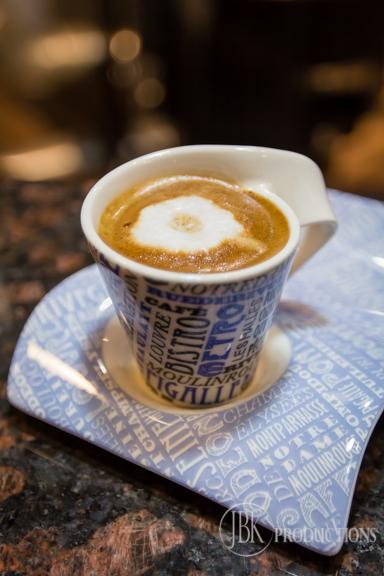 A Cup of Espresso at La Fortuna Cafe